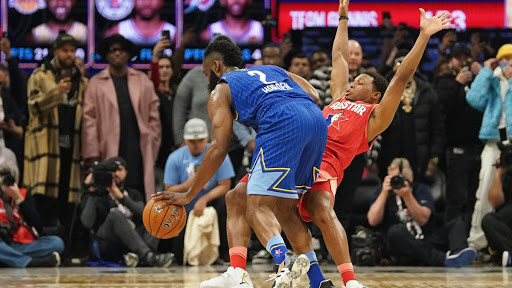 James Harden Kyle Lowry All-STar Game 2020