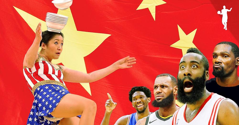 Red_Panda_Rong_Niu_NBA_Cina_Around_the_Game