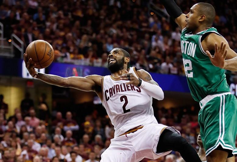 kyrie irving around the game NBA