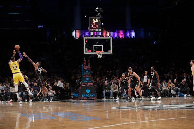 LeBron James Lakers NBA Around the Game