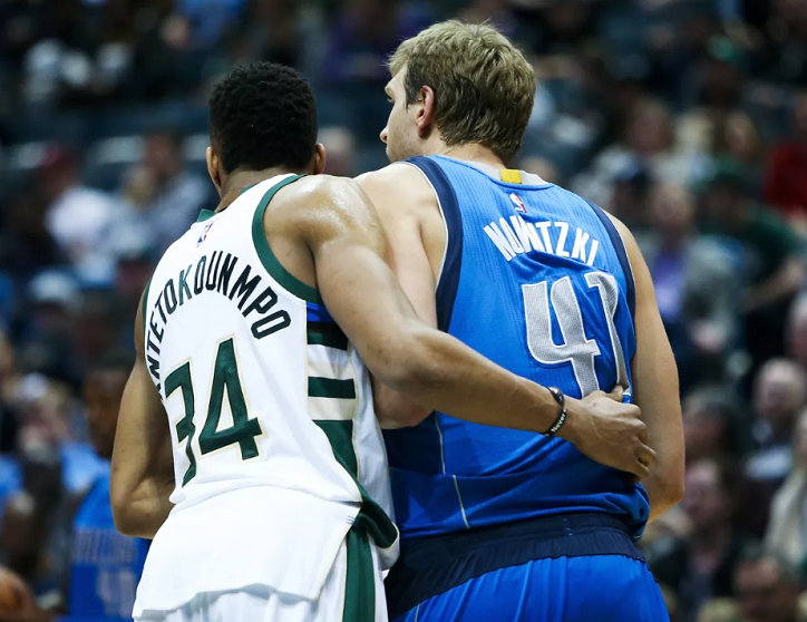 Dirk_Nowitzki_Giannis_Antetokounmpo_NBA_Around_the_Game