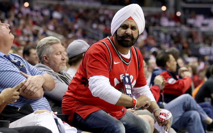 Nav Bathia Toronto Raptors NBA Around the Game