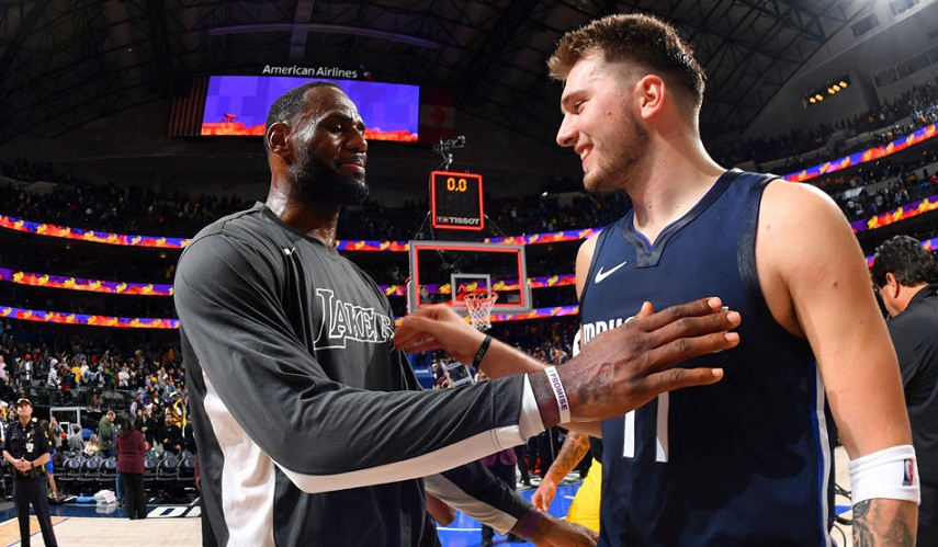 LeBron James Luka Doncic NBA Around the Game