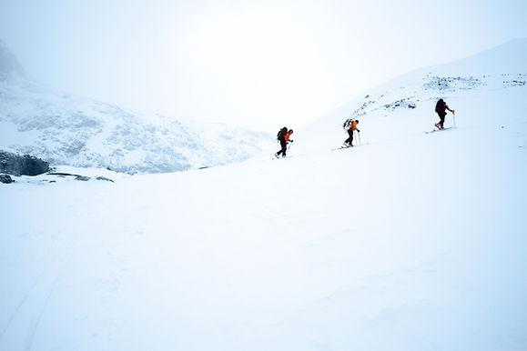 Los esquiadores