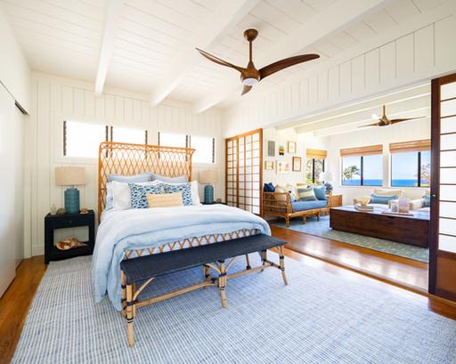 KAUAI SURF HOUSE | MASTER BEDROOM