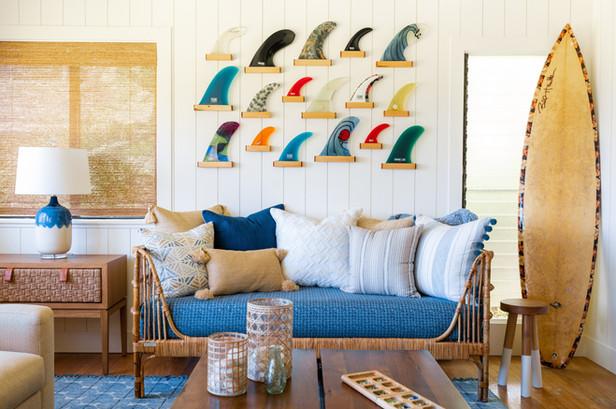 KAUAI SURF HOUSE | SITTING ROOM