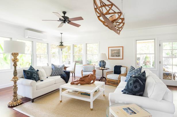 KAUAI FAMILY RESIDENCE | LIVING SPACE