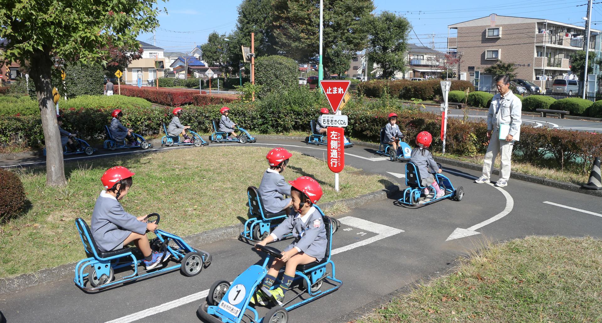 交通指導・交通公園