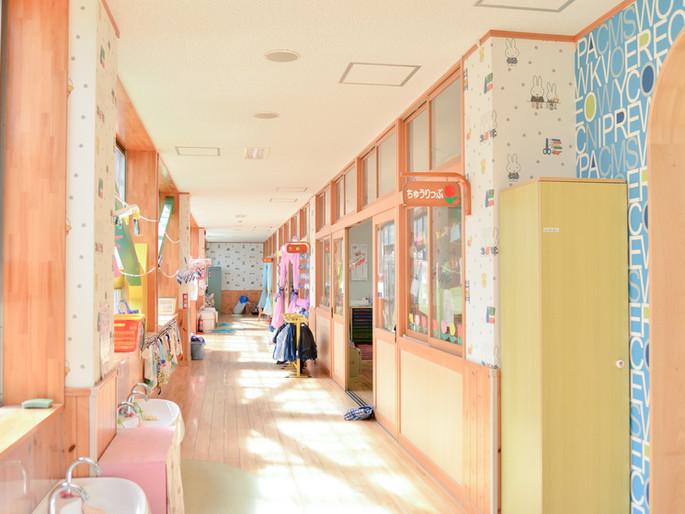 日当たりの良い教室