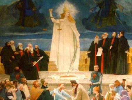 The Origin of Legal Authority