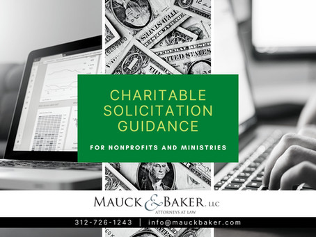 Charitable Solicitation Rules You Need to Know