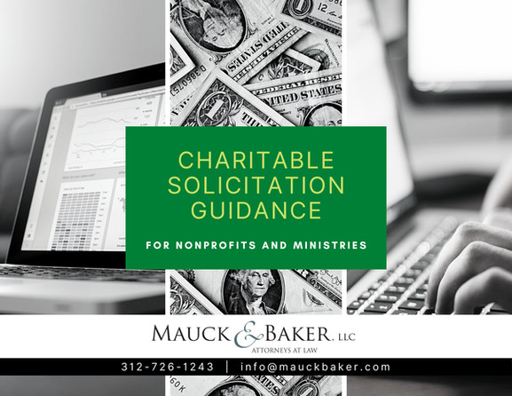 Chartiable Solicitation Guidance