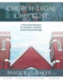 Church Legal Checklist