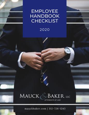 Employee Handbook Checklist