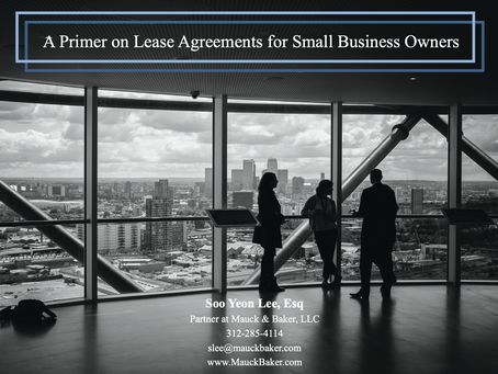 A Primer on Lease Agreements for Small Businesses