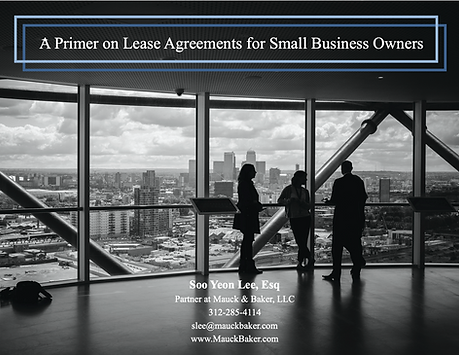 A Primer on Lease Agreements for Small B