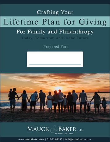 Lifetime Plan for Giving