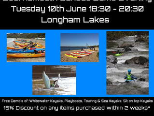 Bournemouth Canoes Demo Day 10th June