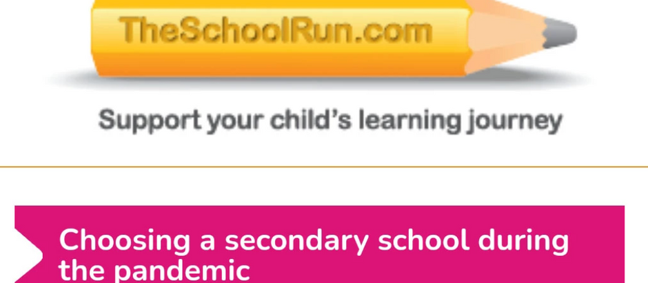 Leon Hady gives advice on choosing a secondary school during the pandemic