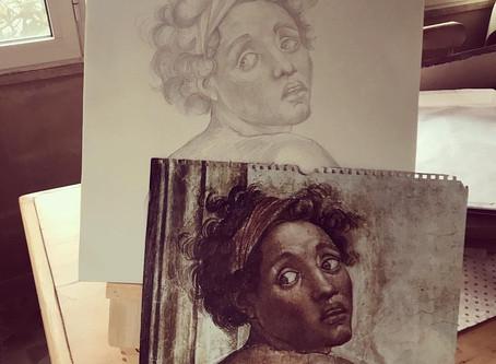 "Gli ""Ignudi"" in Michelangelo's Sistine Chapel"