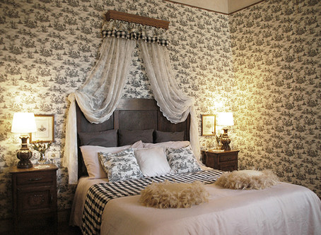 Toile du Jouy and Fabric Interiors