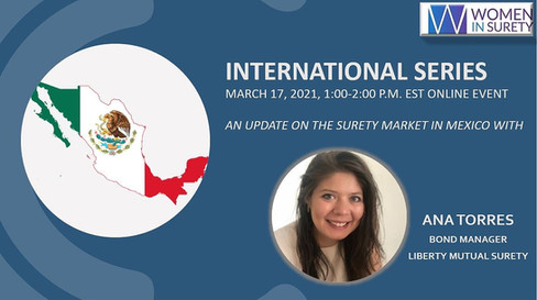 International Surety Series (2 of 3) Mexico held on March 17, 2021
