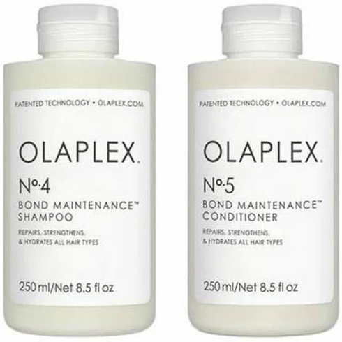 Olaplex Bond Maintenance No.4 Shampoo and No.5 Conditioner 250ml Duo Pack