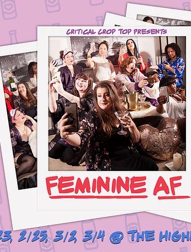 Feminie AF with Critical Crop Top