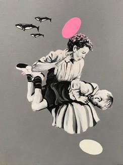 """Homenaje a Max Ernst"", 2020"