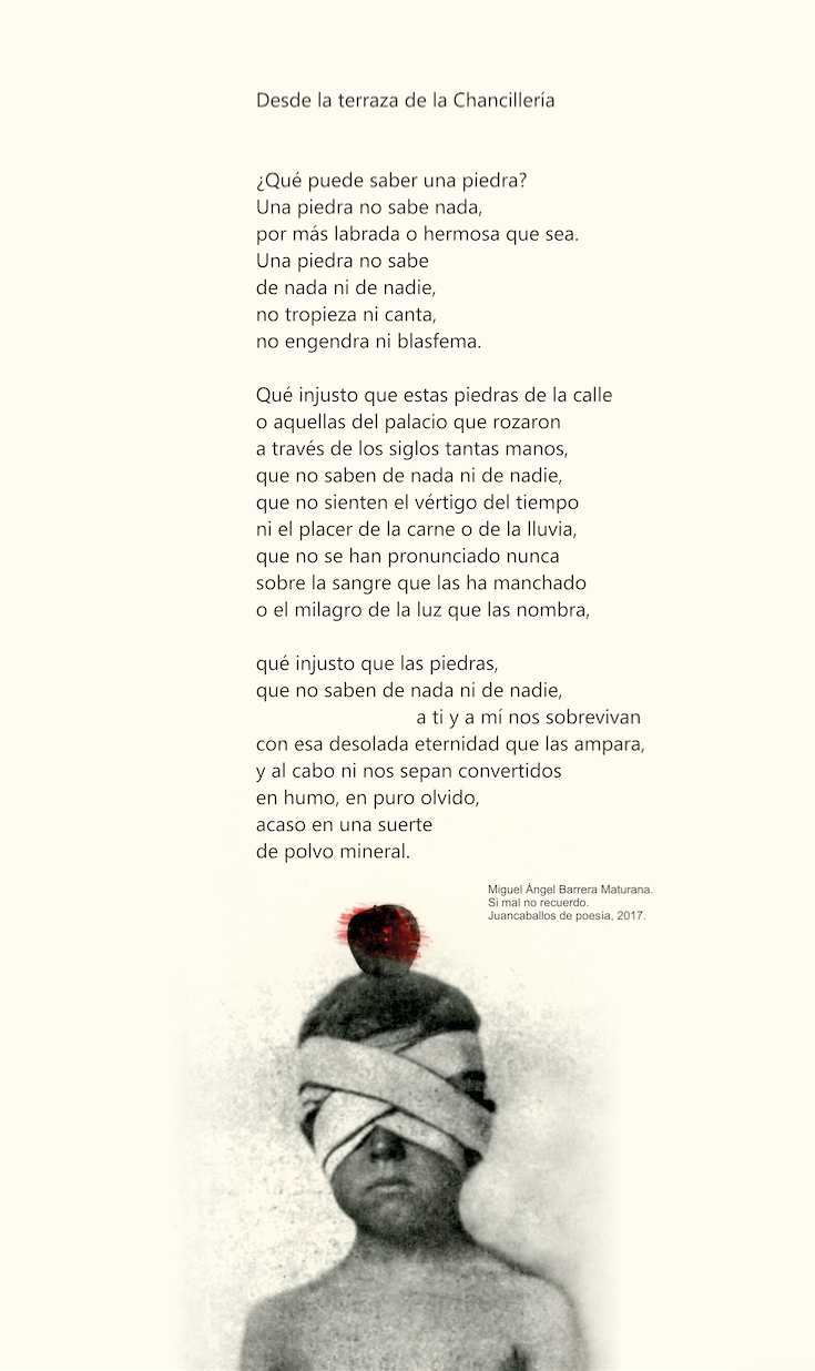 Poema Miguel Angel Barrera Maturana