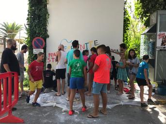 Proceso del mural
