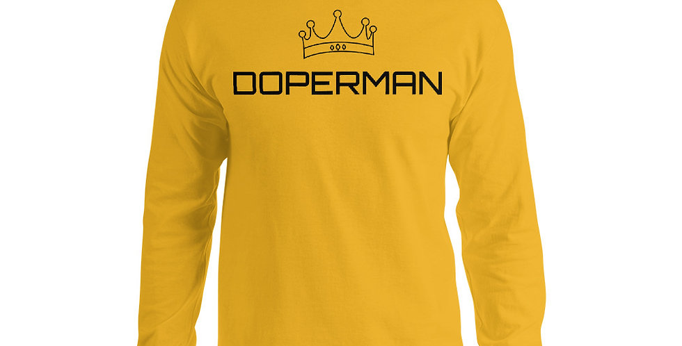 Doperman Men's Long Sleeve Shirt