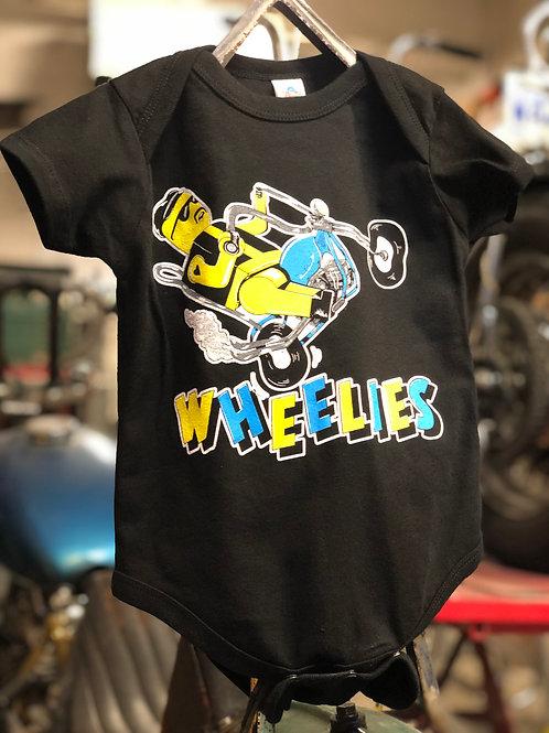 Wheelies x PUPPYTEETH Baby Onesie