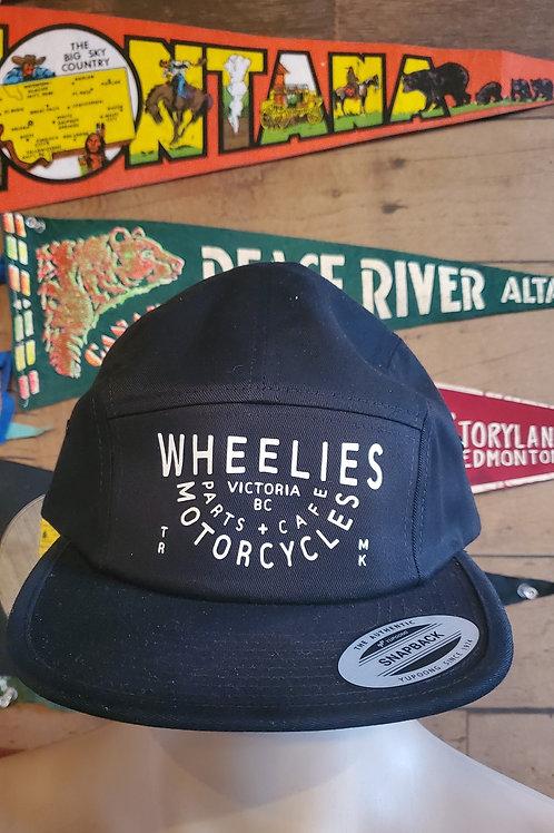 Wheelies 5 Panel Camp Hat