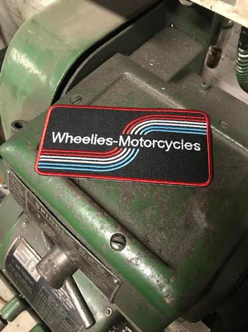 Wheelies Stripes Patch