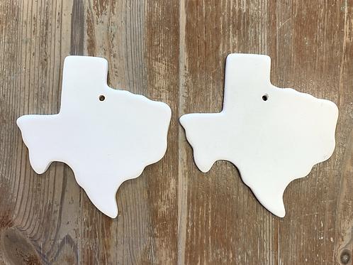 2 Texas  ornaments