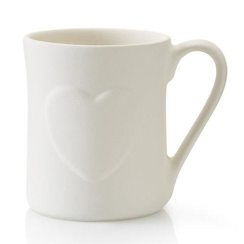 Heart Mug - 12oz