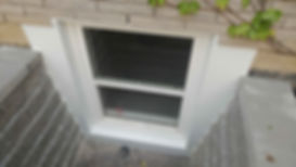 basement window cut out, basement window replacement,