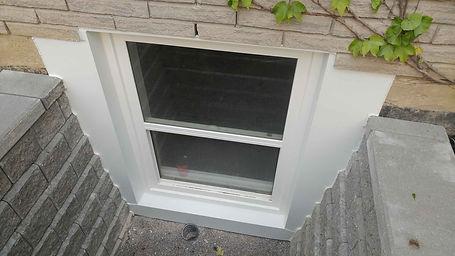 basement window cut out, basement window replacement,