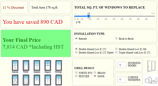 Toronto affordable windows and doors