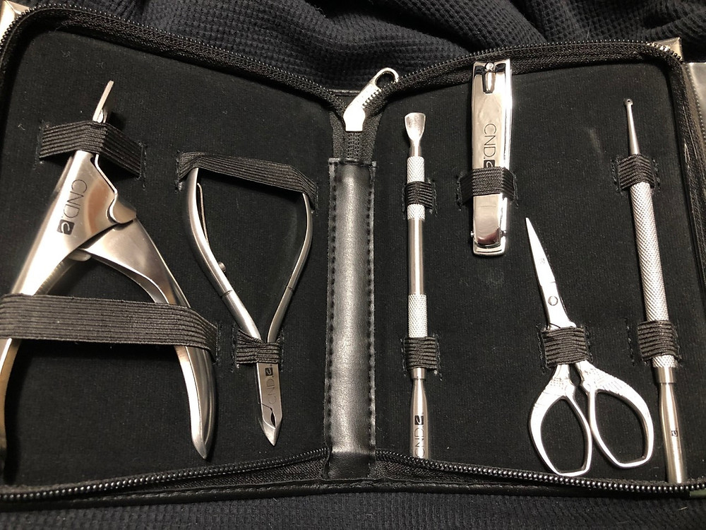 Full toolkit in case for giveaway.