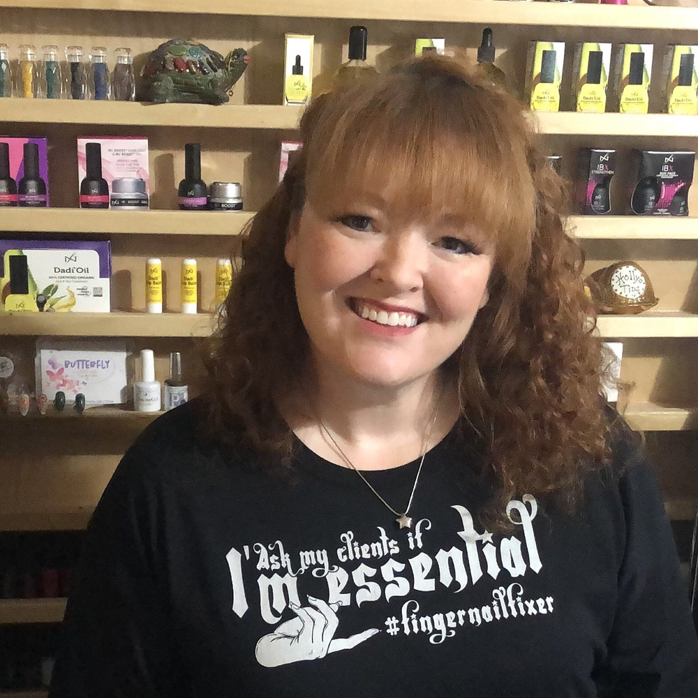 Ask My Clients If I'm Essential shirts available in the FingerNailFixer shop!!