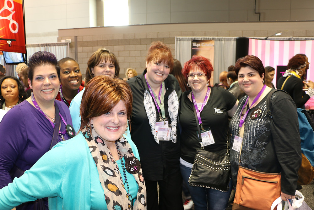 Gathering with other pros at ABS Chicago in years past.