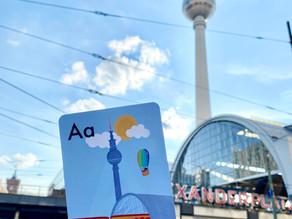 """""""B wie Berlin"""" ABC flashcards: Berlin from A-Z"""