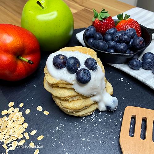 Wholesome Apple & Cinnamon Pancakes