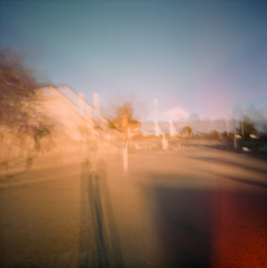shadow through pinhole