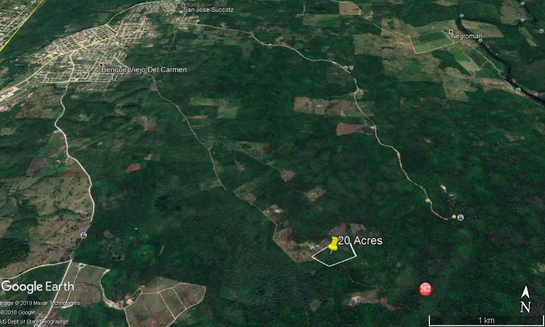 #L4 20 Acres, 20 minutes from Benque Viejo - Land for sale