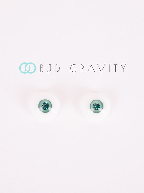 Eyes No.4 (Blue-green)