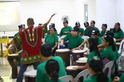 corporate team building drumstart