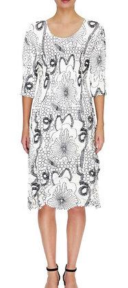 Alquema Smash Pocket 3/4 Sleeve Dress